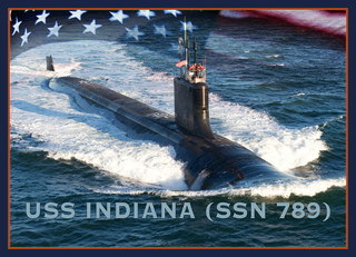 USS Indiana submarine set to commission in Sept.