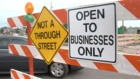 Construction closes major Greenwood intersection
