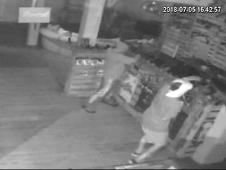 WATCH: Burglars steal guns from Columbus store