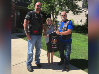 Bikers go 'Ella Strong' for fundraising ride