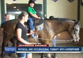 Children's therapy fueled with horsepower