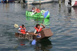Fishers cardboard boat contest to set sail Aug 4
