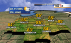 Scattered storms possible Sunday and Monday