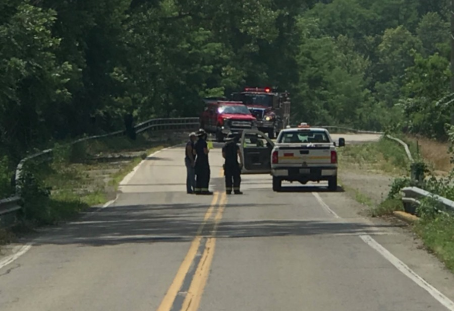 Gas Leak Sink Hole Causes Evacuations In Madison County Theindychannel Com Indianapolis In
