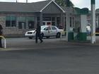 Man found shot in gas station parking lot dies