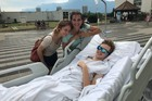 Indy student stranded overseas after accident