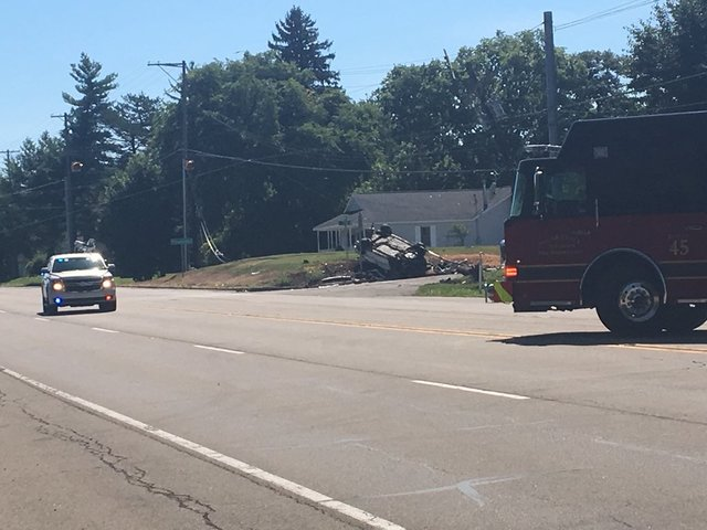 Crash to close US 40 in Hancock County for hours