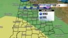 T'Storms, possibly severe, return Friday