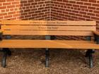 School bench honors student who died of cancer