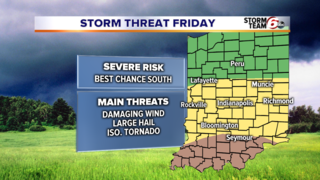 ALERT: Friday T'Storms potentially severe