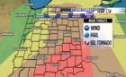 ALERT DAY: Severe storms possible this afternoon