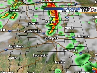 TIMELINE: When will you see t'storms?