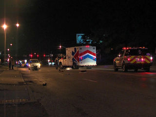 Man in wheelchair hit by vehicle, killed