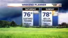Much Cooler weekend with showers