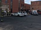 Possible hazmat evacuates Anderson police dept.