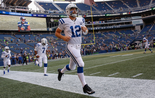 PHOTOS: Yes, Andrew Luck really did play!