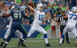 Andrew Luck makes return as Colts beat Seahawks