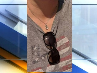 Woman finds necklace with brother's ashes