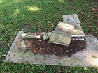 22 headstones damaged at Morristown cemetery