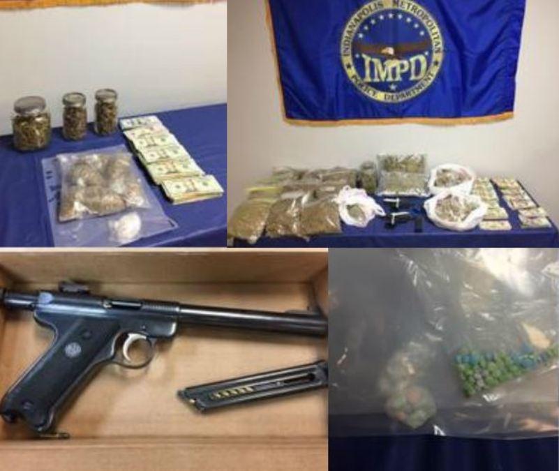 8 arrested during large drug bust on Indy's northeast side