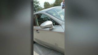 Carmel road rage incident ends at police station