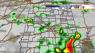 ALERT: Thunderstorms coming throughout the day