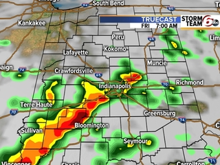 TIMELINE: Rain likely to impact your commute