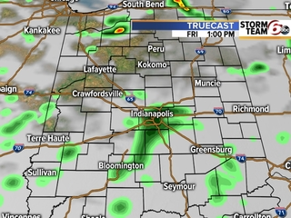 TIMELINE: Rain likely to fall most of Friday