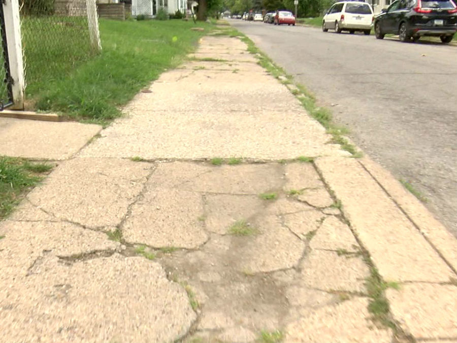 Indy Gas Prices >> A man reported his damaged sidewalk to the city. A year ...