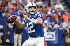 Luck welcomes soreness after throwing 53 passes