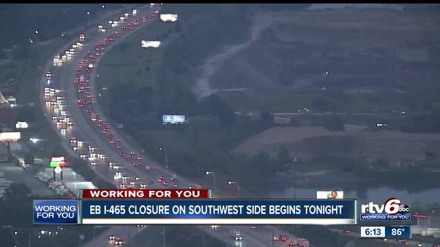 What you need to know about the I-465 closures