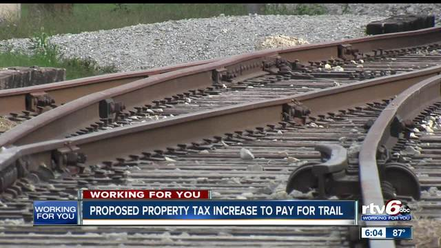 Fishers proposes property tax increase to pay for Nickel Plate Railroad…