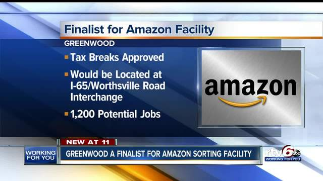 Greenwood a finalist for Amazon sorting facility that would bring more…
