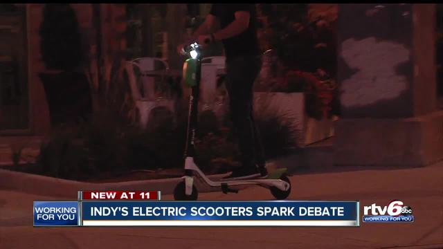 Indy-s electric scooters spark debate