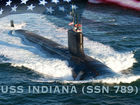 Fast-attack submarine to become 3rd USS Indiana