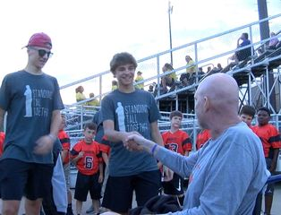 Beech Grove honors basketball coach with cancer