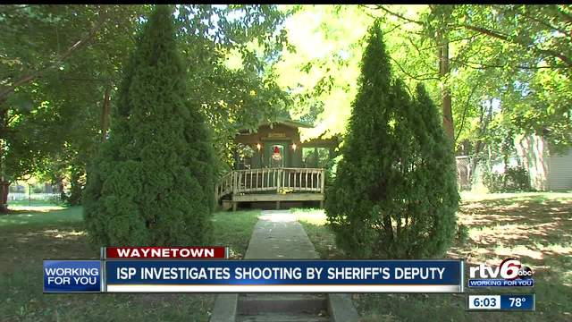 Montgomery County deputy involved in shooting