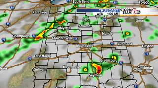Showers and T'Storms next 24 hours