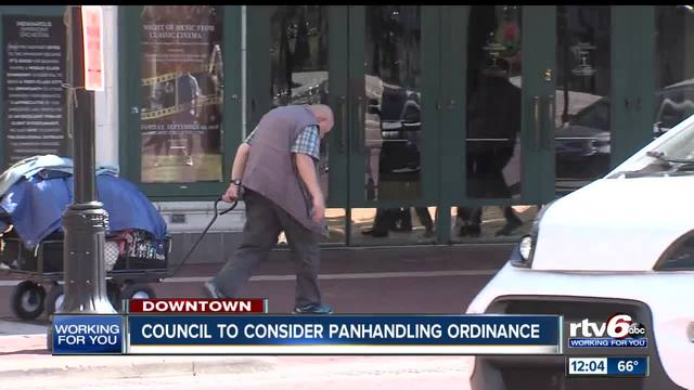 City-County Council proposal to discourage panhandling to be heard…