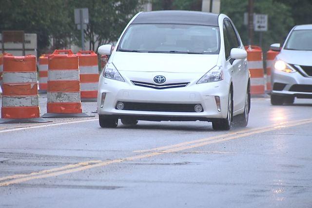 Dangerous drivers cut corners to avoid detours