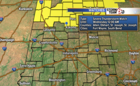 More T'Storms tonight, possibly severe