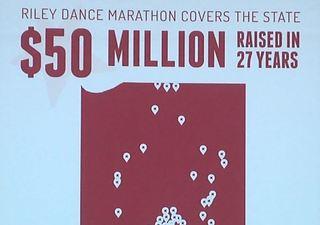 Riley dance marathon celebrates $50M raised