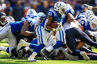 PHOTOS: Colts lose to Texans 37-34