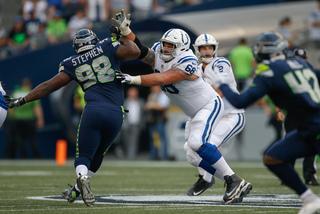Colts put Matt Slauson on injured reserve