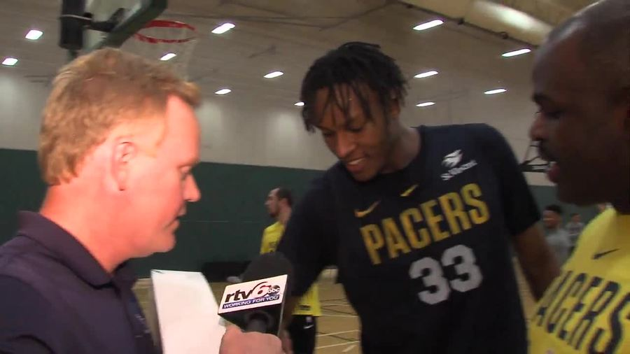 The Indiana Pacers' preseason road trip rolls on - TheIndyChannel.com Indianapol...