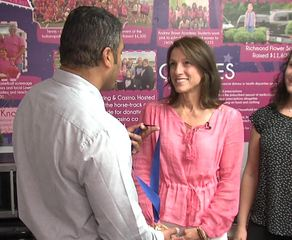 Her foundation helps women with breast cancer