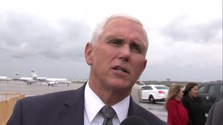 Pence in Indiana to boost GOP Senate candidate