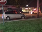 Pedestrian struck on Indy's northside