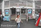 Woman caught on camera passing counterfeit money