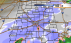 Light snow possible Monday night